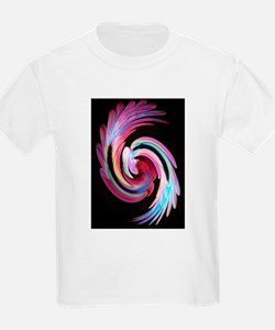 Muted Feather Swirl T-Shirt