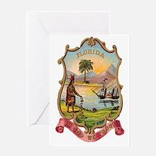 Florida Coat of Arms Greeting Card