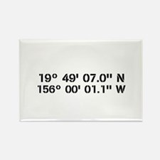 Latitude Longitude Personalized Custom Magnets