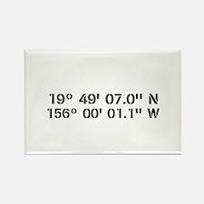 Latitude Longitude Personalized Custom Magnets