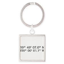 Latitude Longitude Personalized Custom Keychains
