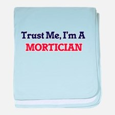 Trust me, I'm a Mortician baby blanket