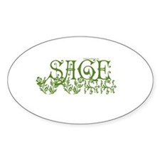 SAGE Oval Decal