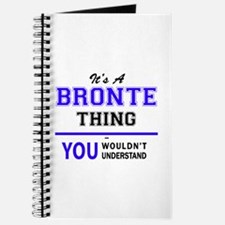 It's BRONTE thing, you wouldn't understand Journal