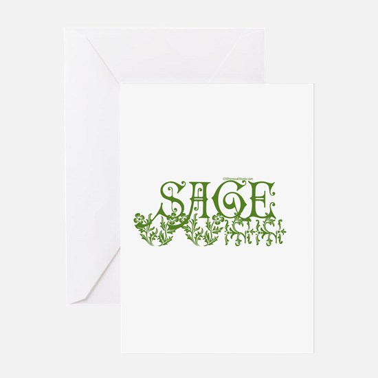 SAGE Greeting Card