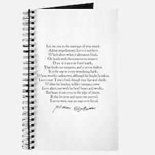 Sonnet 116 Journal