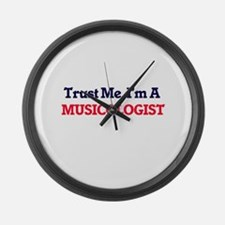 Trust me, I'm a Musicologist Large Wall Clock