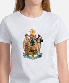 Maine Coat of Arms Tee