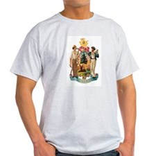 Maine Coat of Arms T-Shirt