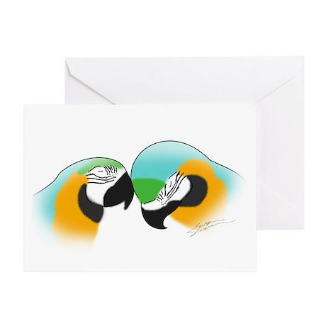 Art B&G Macaw Greeting Card