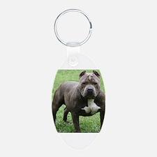 Funny Pitbull Keychains