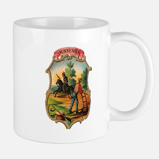Minnesota Coat of Arms Mug