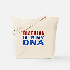 Biathlon Is In My DNA Tote Bag