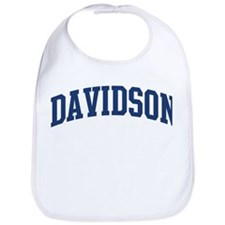 DAVIDSON design (blue) Bib