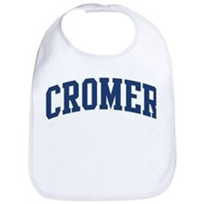CROMER design (blue) Bib