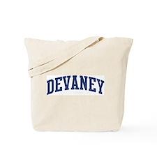 DEVANEY design (blue) Tote Bag