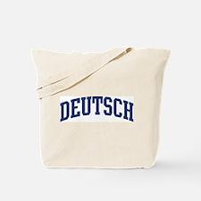DEUTSCH design (blue) Tote Bag