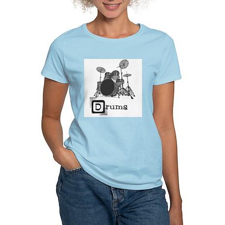 School of Rock Drums Women's Light T-Shirt