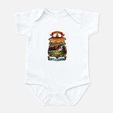 Montana Coat of Arms Infant Bodysuit