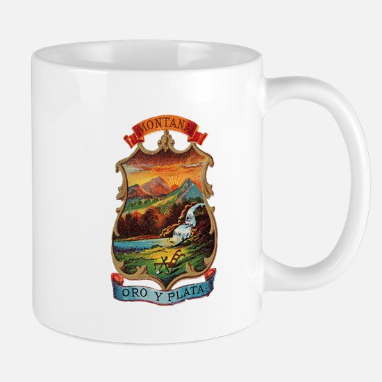 Montana Coat of Arms Mug