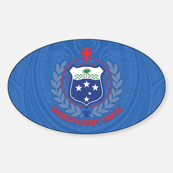 Manu Samoa Sticker (oval)