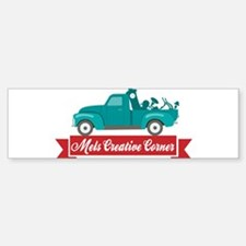 Mels Creative Corner Logo Merchandise Bumper Stick