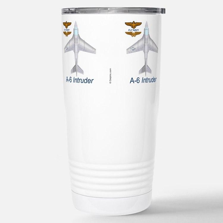 Cute A 6 intruder Travel Mug