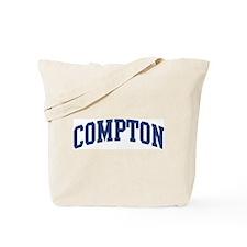 COMPTON design (blue) Tote Bag