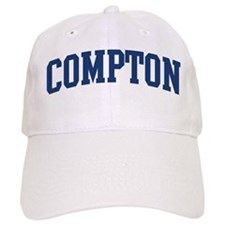 COMPTON design (blue) Baseball Cap