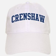 CRENSHAW design (blue) Baseball Baseball Cap