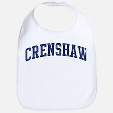 CRENSHAW design (blue) Bib
