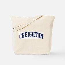 CREIGHTON design (blue) Tote Bag