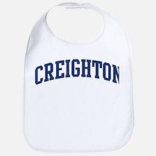 CREIGHTON design (blue) Bib