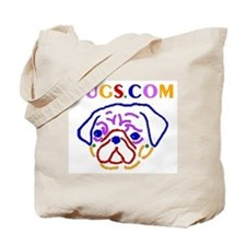 Rainbow URL Tote Bag