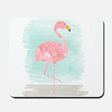 Beach Flamingo Mousepad