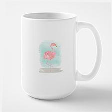 Beach Flamingo Mugs