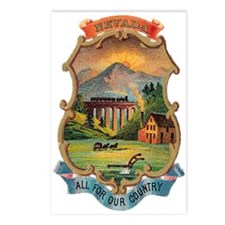 Nevada Coat of Arms Postcards (Package of 8)