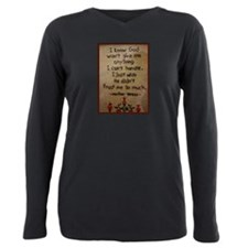 Mother Plus Size Long Sleeve Tee