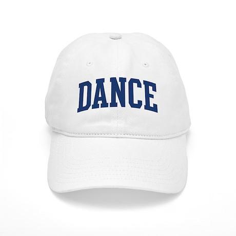 DANCE design (blue) Cap