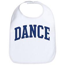 DANCE design (blue) Bib