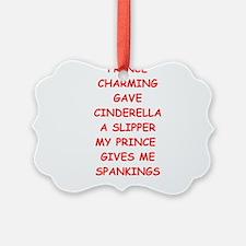 spankings Ornament