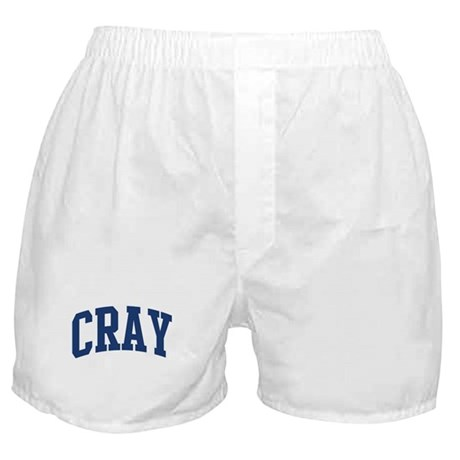 CRAY design (blue) Boxer Shorts