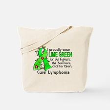 For Fighters Survivors Taken Lymphoma Tote Bag