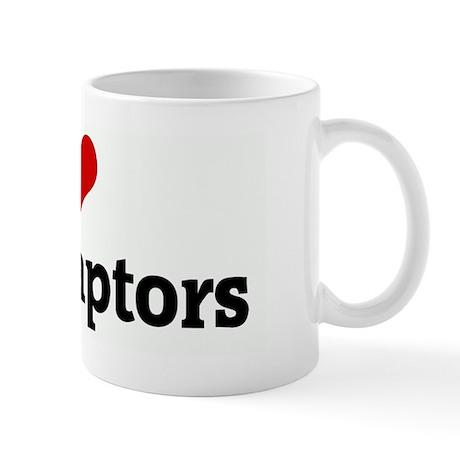 I Love velociraptors Mug