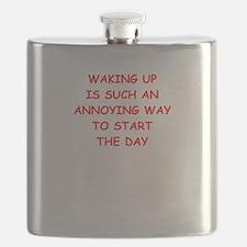 waking up Flask