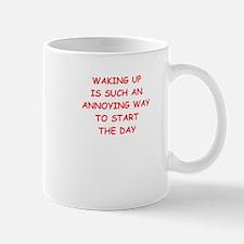 waking up Mugs
