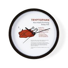 Tryptophan Wall Clock