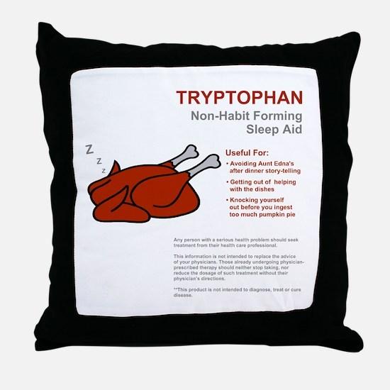 Tryptophan Throw Pillow