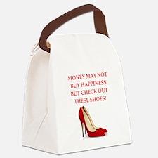 shoes Canvas Lunch Bag