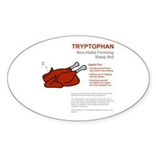Tryptophan Oval Decal